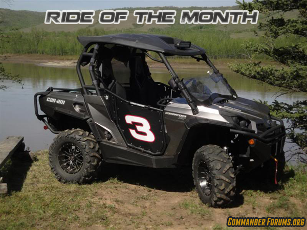 We Are Excited To Announce The Start Of The December Can Am Commander Ride  Of The Month Contest! This Month We Are Looking For The Best Picture Of  YOUR ...